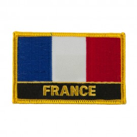 New Europe Flag Embroidered Patch - France