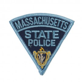 Eastern State Police Embroidered Patches - MA State