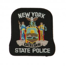 Eastern State Police Embroidered Patches - NY State