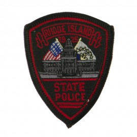 Eastern State Police Embroidered Patches - RI State