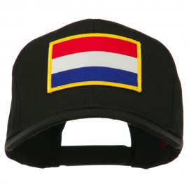 Europe Flag Embroidered Patch Cap - Netherlands