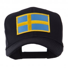 Europe Flag Embroidered Patch Cap - Sweden