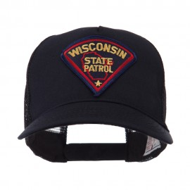 USA Eastern State Police Embroidered Patch Cap - WI State