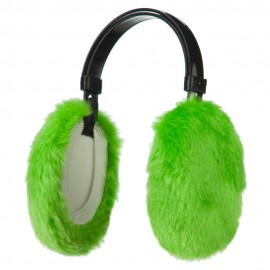 Ear Muffs - Neon Green