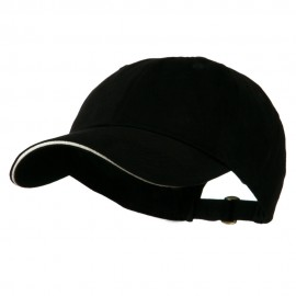 Essentials Sandwich Ball Cap - Black Stone