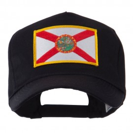 USA Eastern State Embroidered Patch Cap - Florida