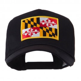 USA Eastern State Embroidered Patch Cap - Maryland
