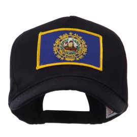 USA Eastern State Embroidered Patch Cap - New Hampshire