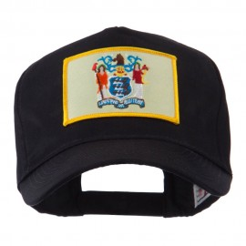 USA Eastern State Embroidered Patch Cap - New Jersey