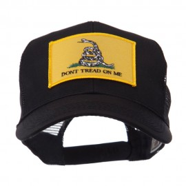 ETC Embroidered Military Patched Mesh Cap - Gadsden
