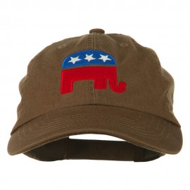 Republican Elephant USA Embroidered Pet Spun Cap