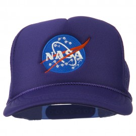 NASA Insignia Embroidered Youth Foam Mesh Cap