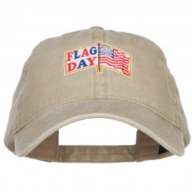 Flag Day Patched Wash Cap