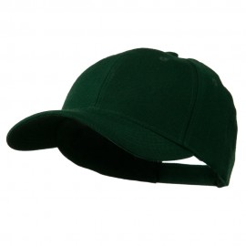 Cotton Twill Adjustable Cap - Dark Green