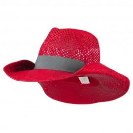 Women's Lightweight Cowboy Hat - Red