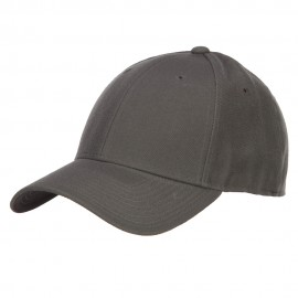 Fitted Cap-Charcoal