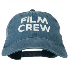Film Crew Embroidered Washed Cap