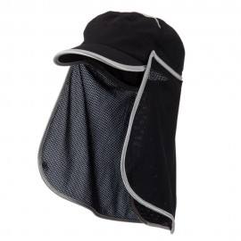 UV 50+ Talson Removable Flap Fidel Cap