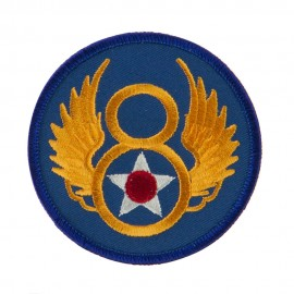 Air Force Division Embroidered Military Patch - 8th