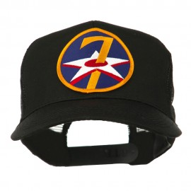 Air Force Division Embroidered Military Patch Cap - 7th