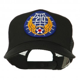 Air Force Division Embroidered Military Patch Cap - 20th