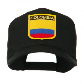 South America Flag Shield Patched Cap