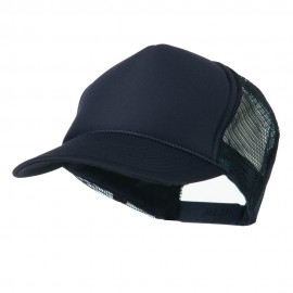 Foam Front Golf Style Mesh Back Cap - Navy