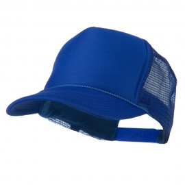 Foam Front Golf Style Mesh Back Cap - Royal