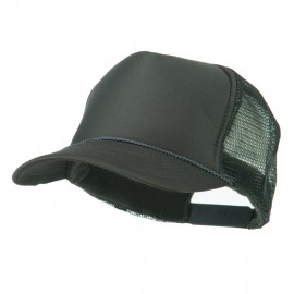 Foam Front Golf Style Mesh Back Cap - Charcoal