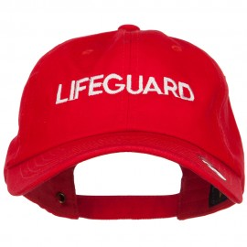 Lifeguard Embroidered Unstructured Cap