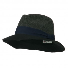 Fashion Herringbone Panama Hat