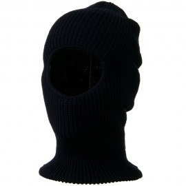 Face Mask with One Hole - Navy