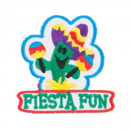 Fiesta Fun Embroidered Patches