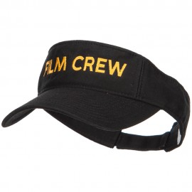 Film Crew Embroidered Cotton Washed Visor