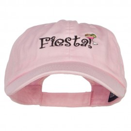 Fiesta Cocktail Embroidered Low Cap