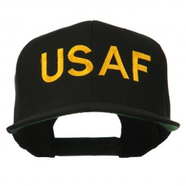 USAF Military Embroidered Flat Bill Cap