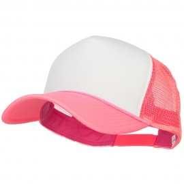 Neon Polyester Foam Front Big Size Mesh Cap
