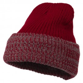 Acrylic Fleece Lined Cuff Knit Cap