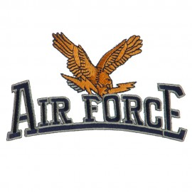 Air Force Other Shape Large Patch - Brown USAF