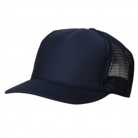 Summer Foam Mesh Trucker Cap - Navy
