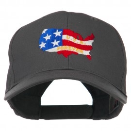 United States with USA Forever Embroidered Cap