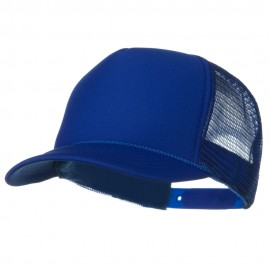 Youth Polyester Foam Front Golf Mesh Cap