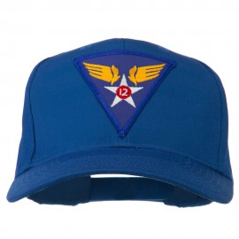 12th Air Force Division Patched Cap - Royal