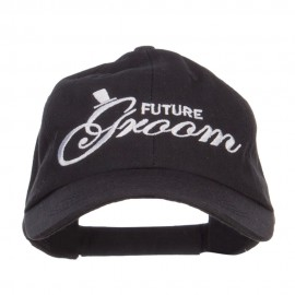 Future Groom Embroidered Washed Ball Cap