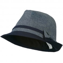Girl's Fedora with Two Bow Accent