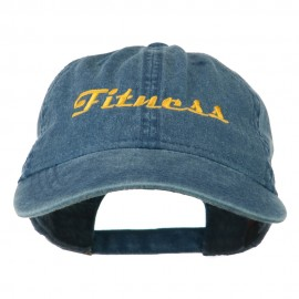 Fitness Wording Embroidered Cap