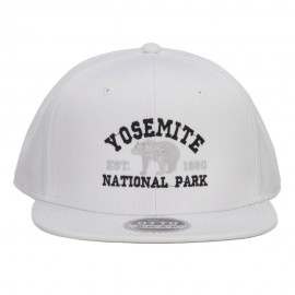 Yosemite National Park Embroidered Flat Bill Cap
