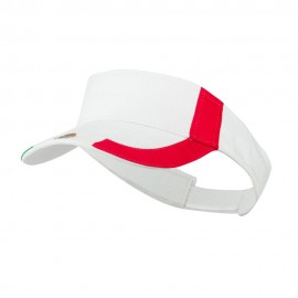 Flag Design Cotton Twill Visor