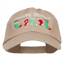 Stocking Stuffers Embroidered Low Cap