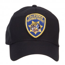 California Highway Patrol Patched Cap